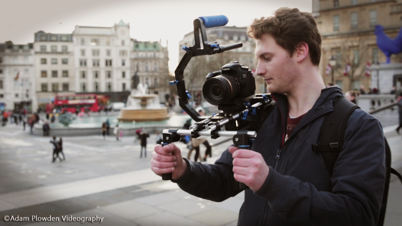 london filming canon dslr video camsmart moda camera rig